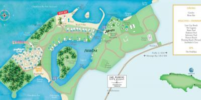 Mapa ng jamaica resorts